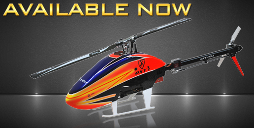 OXY3 Heli available now!