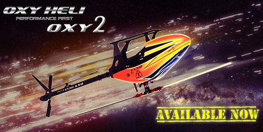 OXY2 Heli available now!